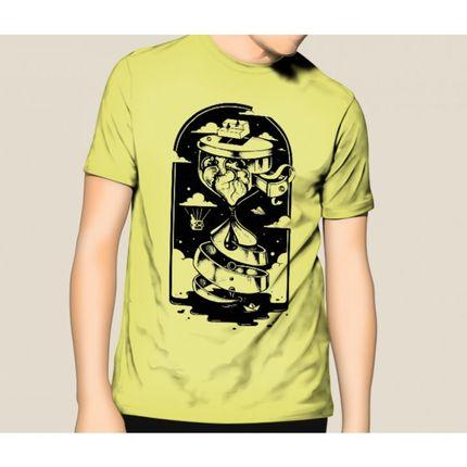 Camiseta HShop Ampulheta Amarelo  - HShop