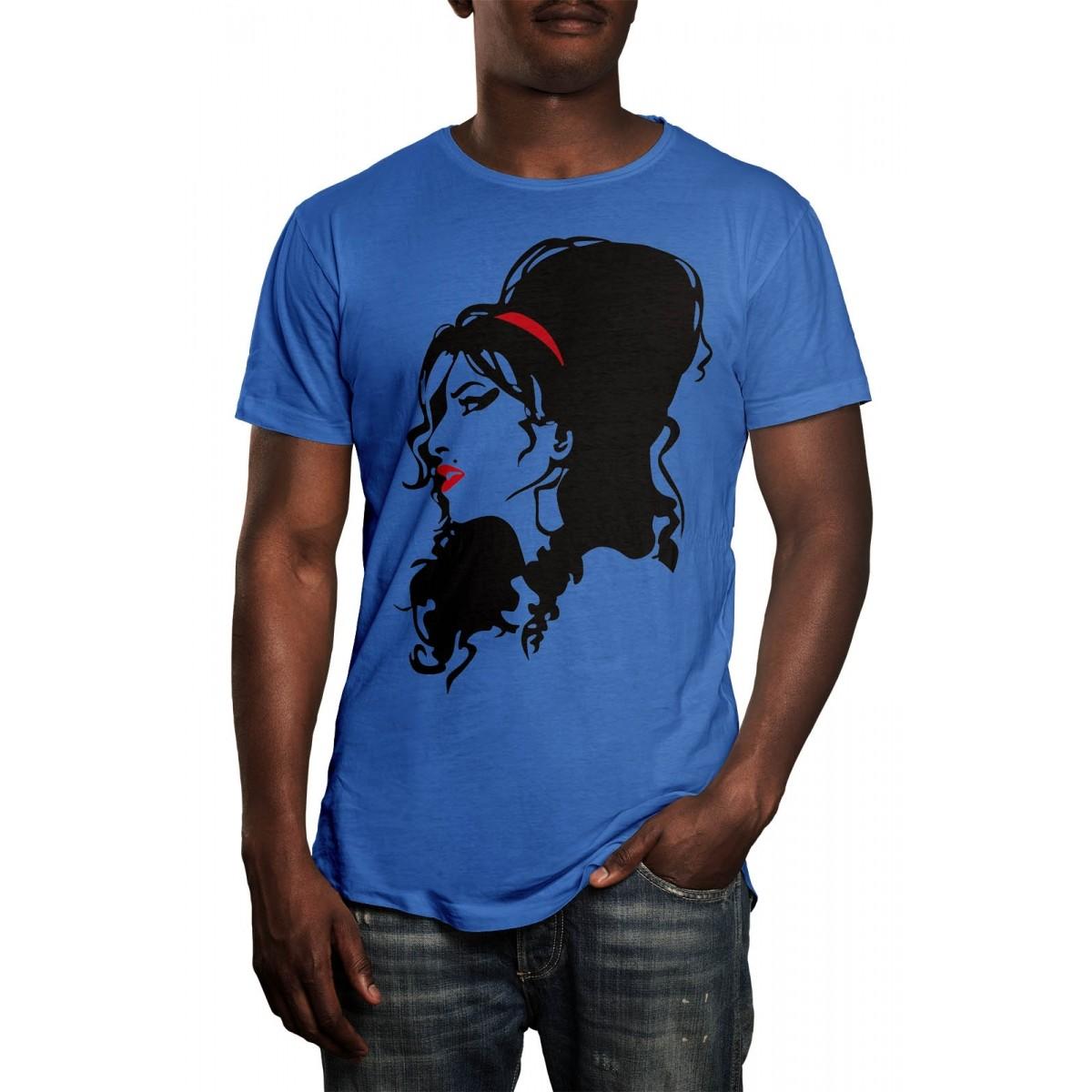 Camiseta HShop Amy Azul - 571  - HShop