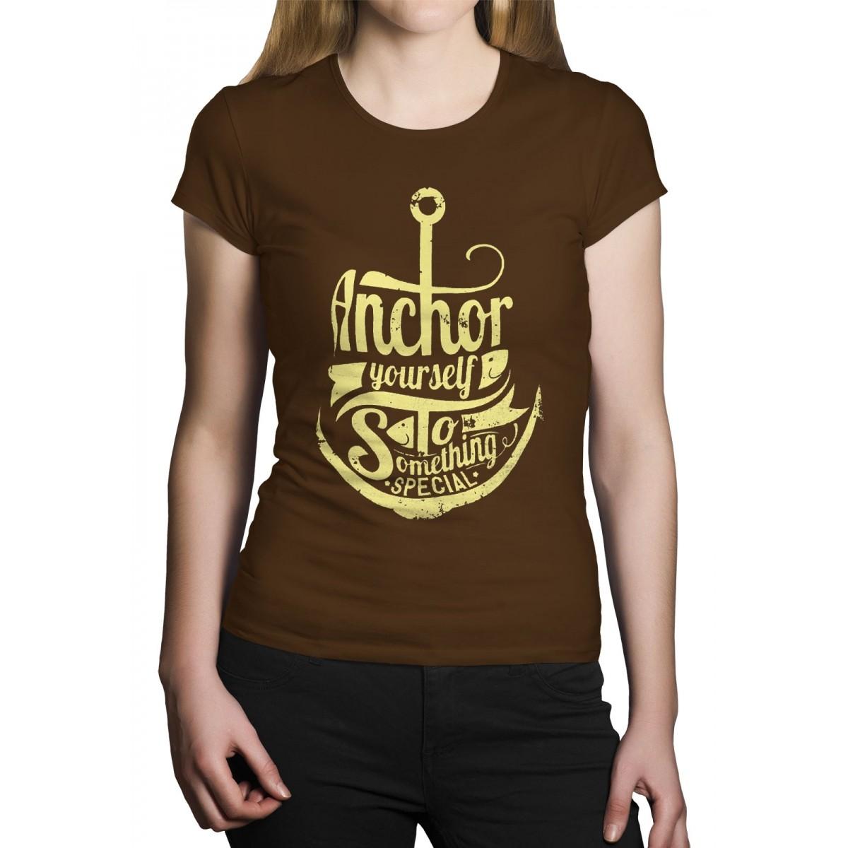 Camiseta HShop Ancora Marrom  - HShop