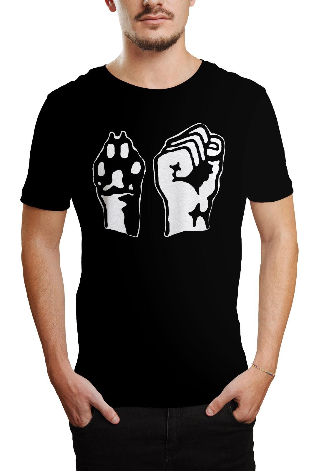 Camiseta Animal Liberation Preto  - HShop
