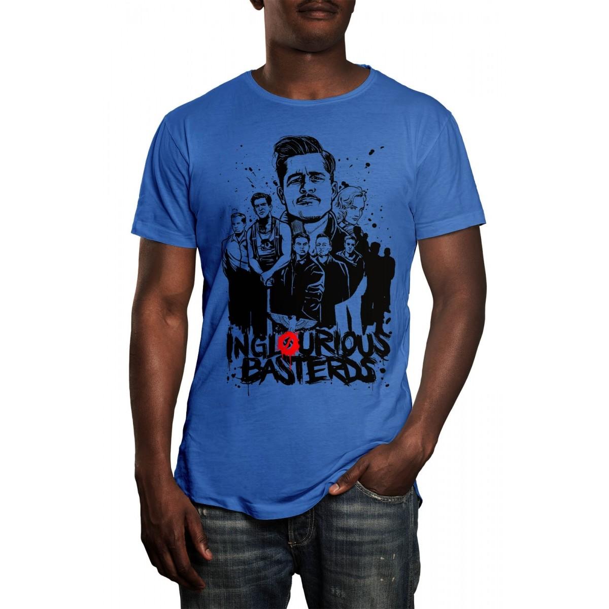 Camiseta HShop Bastardos Inglórios Azul  - HShop