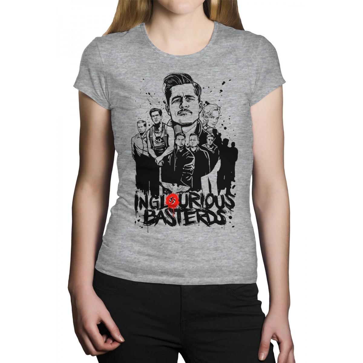 Camiseta HShop Bastardos Inglórios Cinza  - HShop