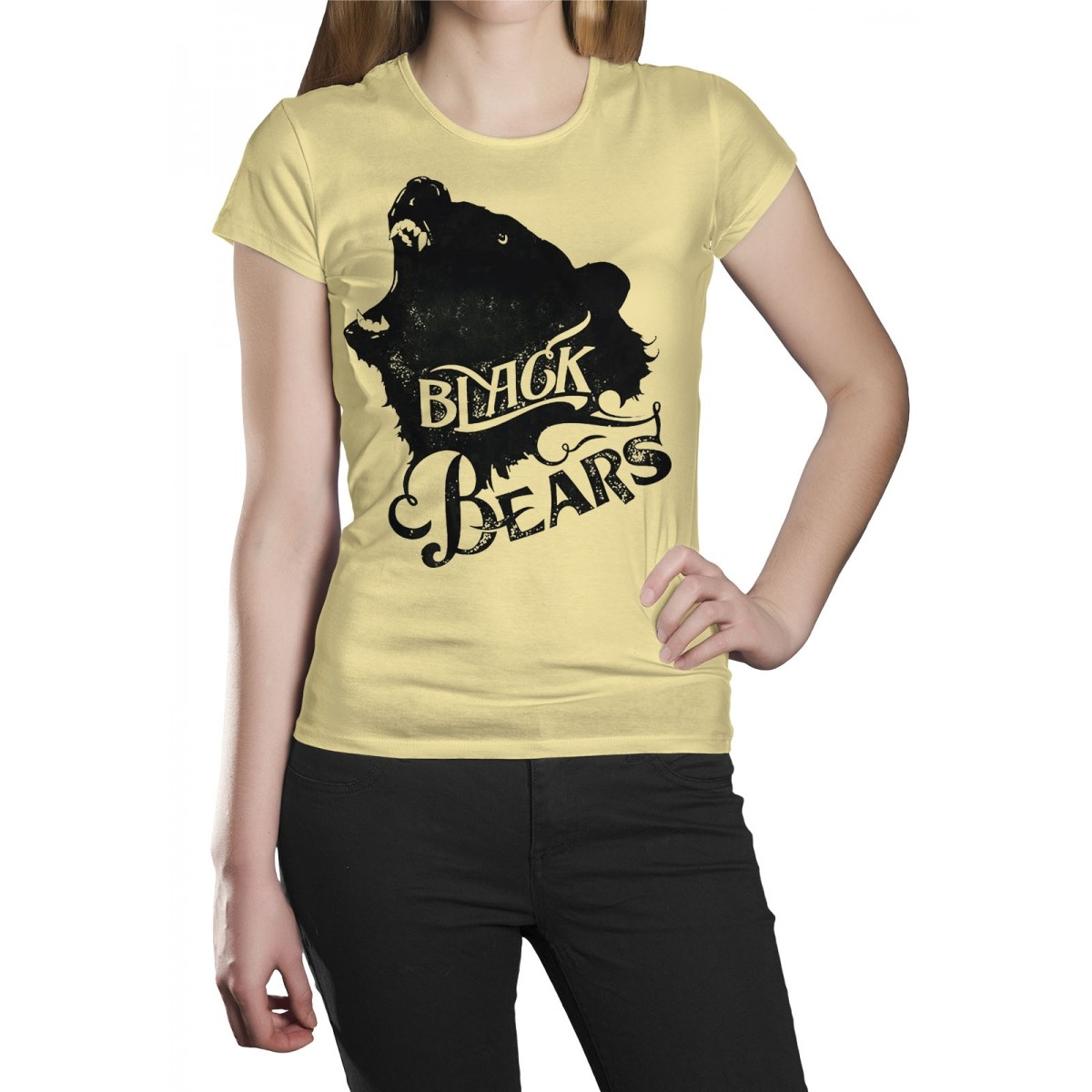 Camiseta HShop Black Bears Amarelo  - HShop