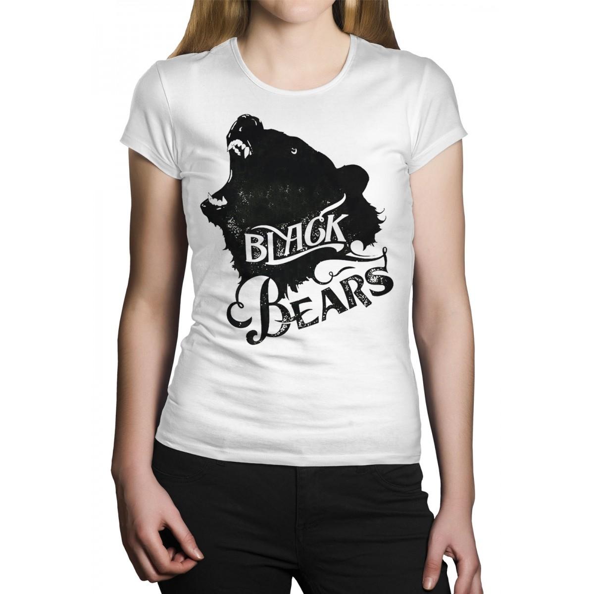 Camiseta HShop Black Bears Branca  - HShop