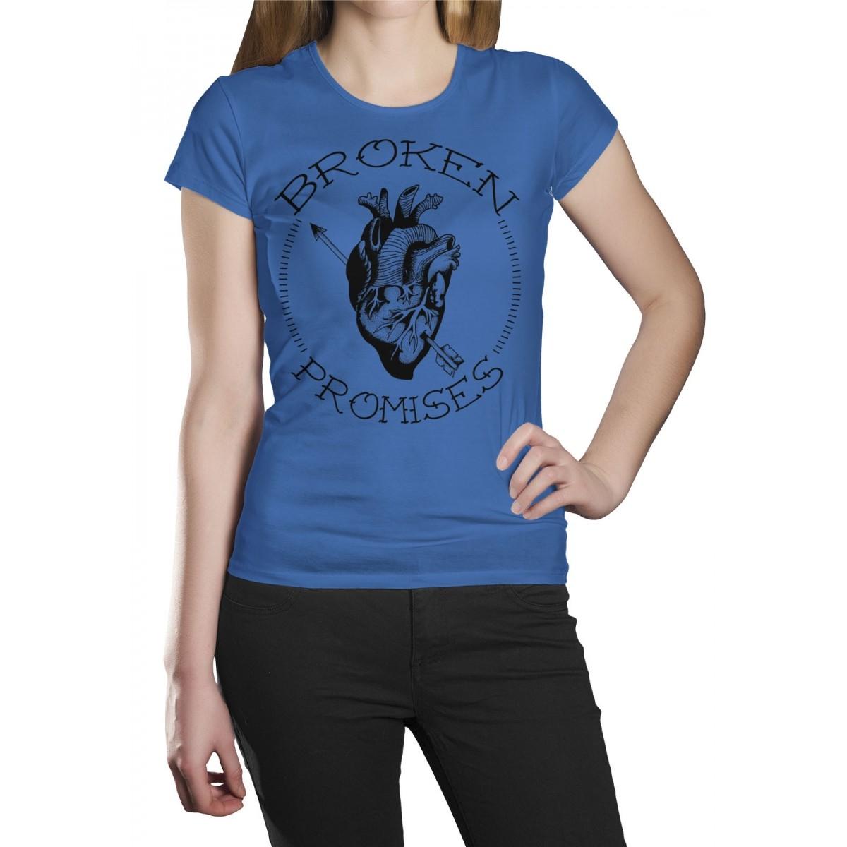 Camiseta HShop Broken Promisses Azul  - HShop