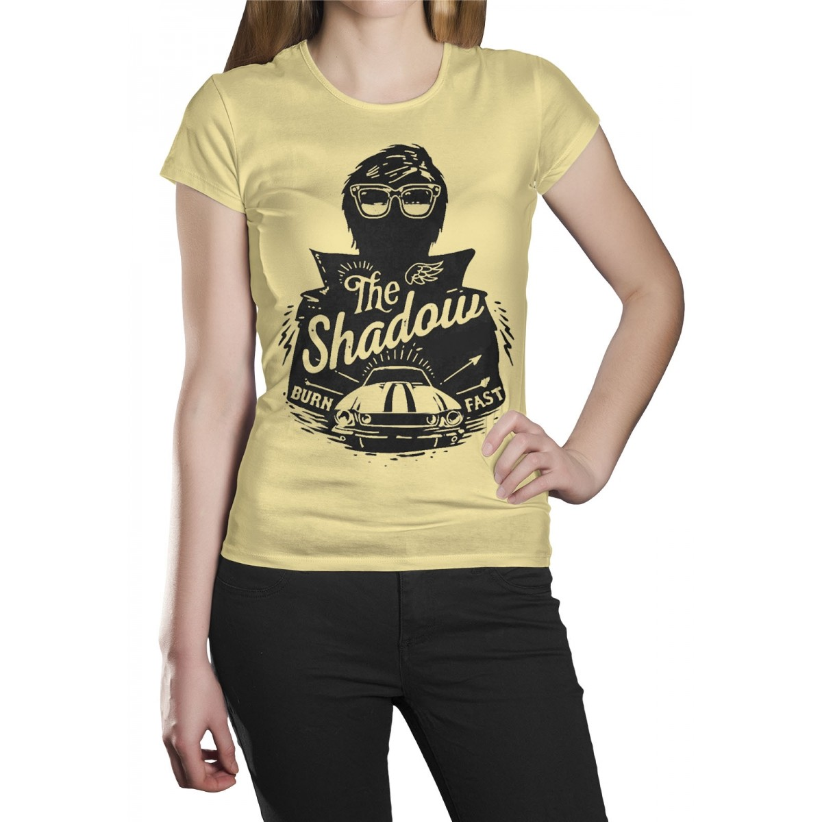 Camiseta HShop Burn  Fast Amarela  - HShop