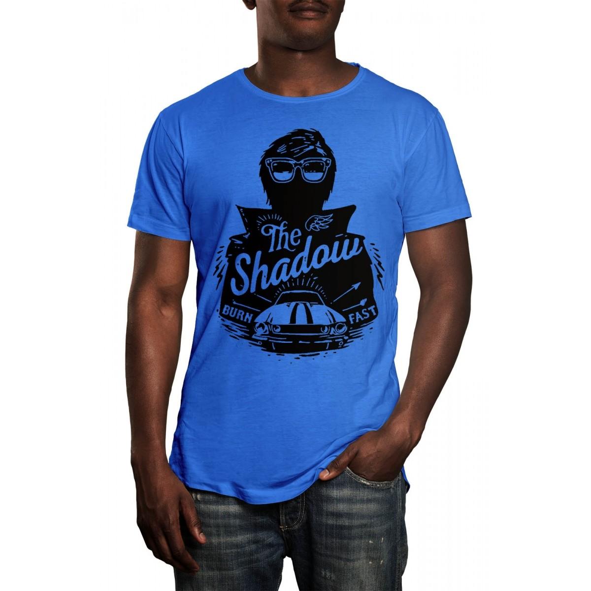 Camiseta HShop Burn  Fast Azul  - HShop