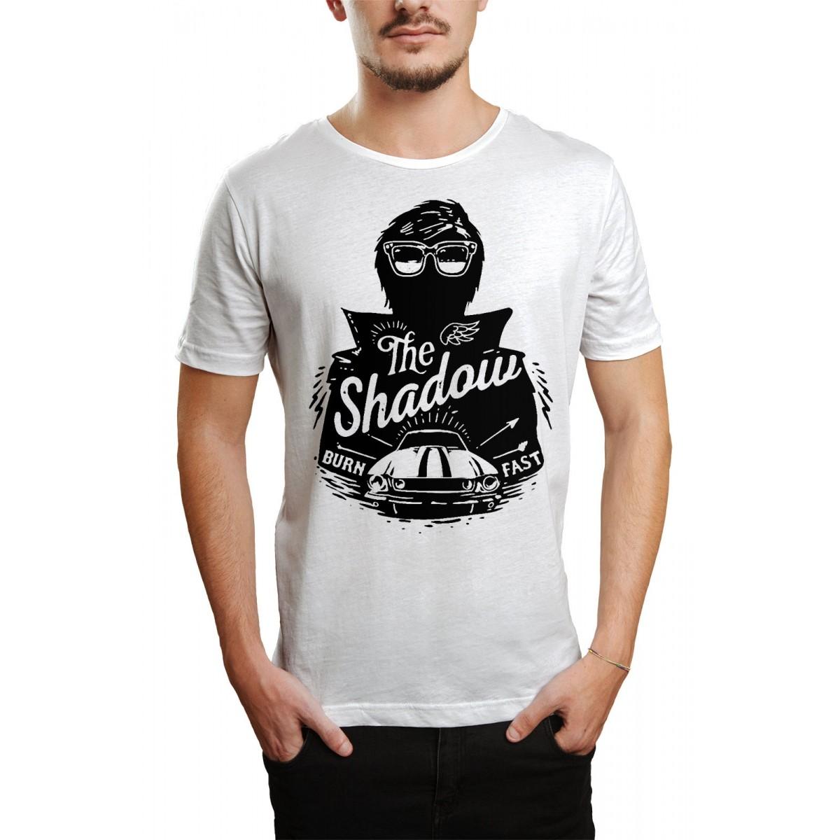Camiseta HShop Burn  Fast Branco  - HShop