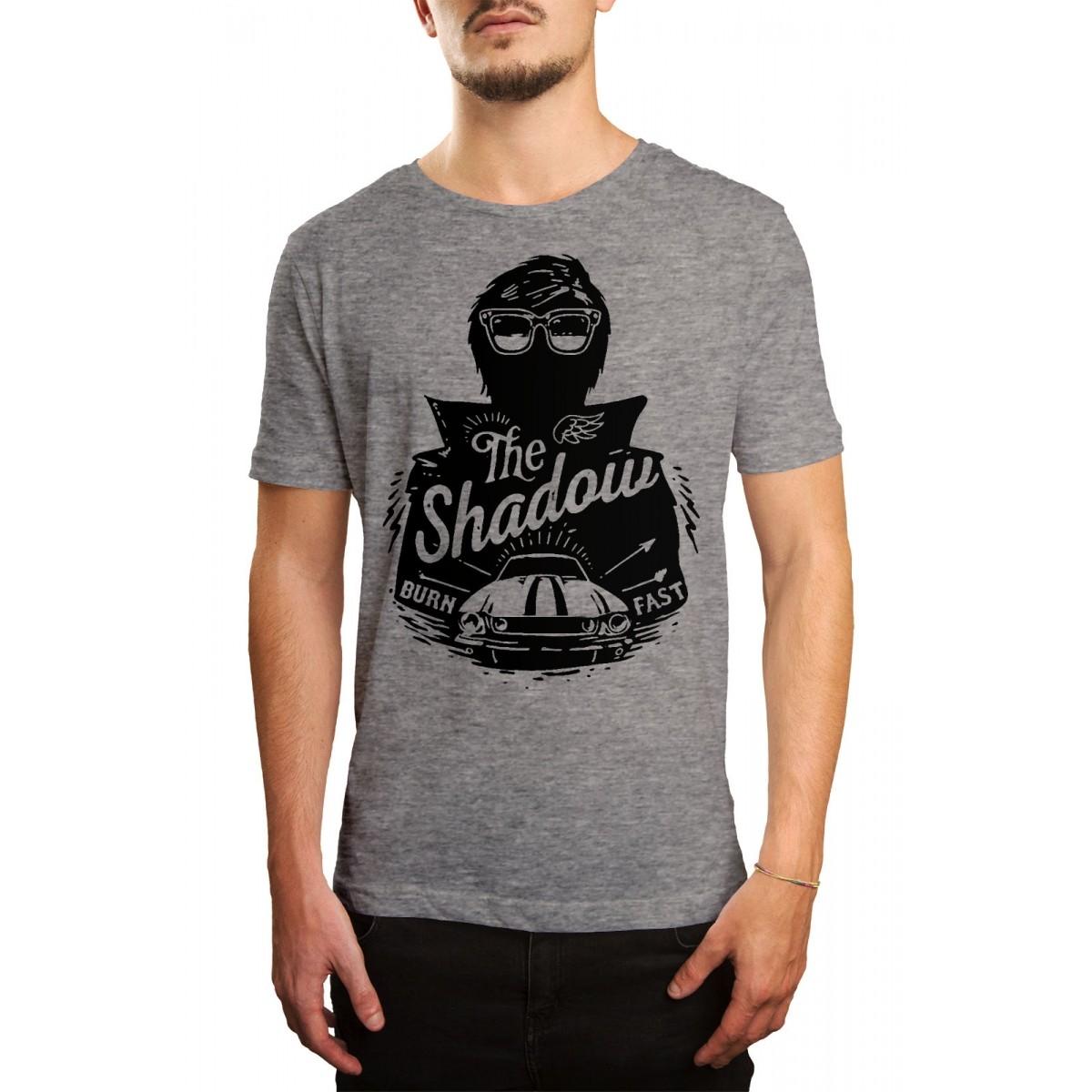 Camiseta HShop Burn  Fast Cinza  - HShop