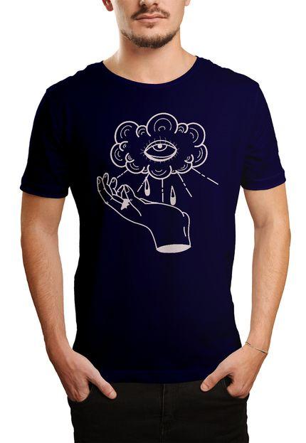Camiseta HShop Can See U  - Azul Marinho  - HShop