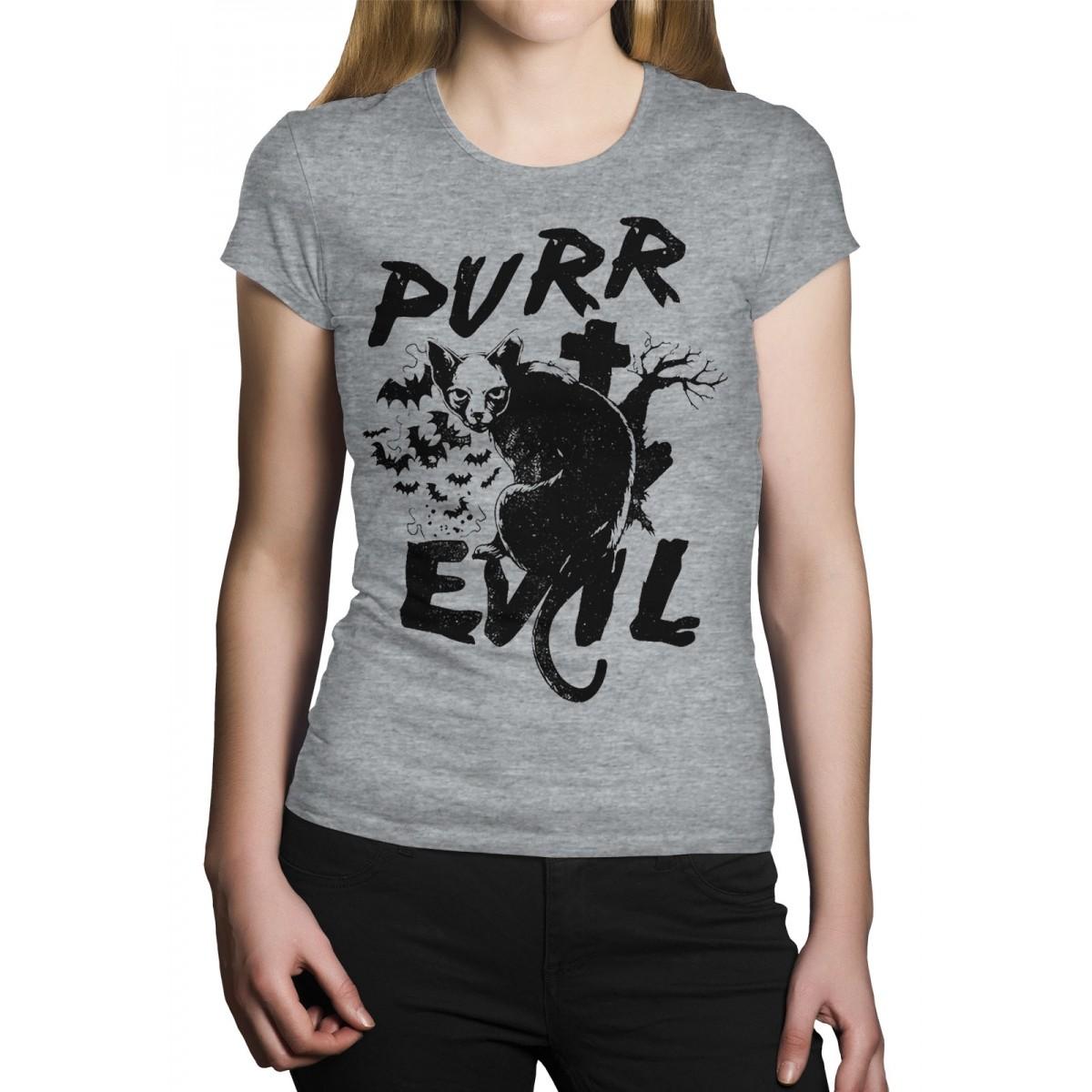 Camiseta HShop Cat Evil Cinza  - HShop
