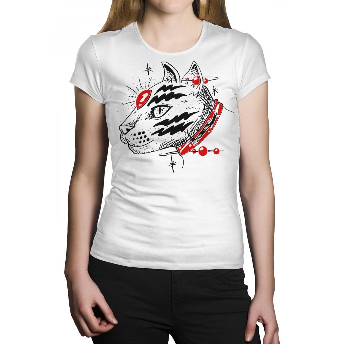Camiseta HShop Catz - Branco  - HShop