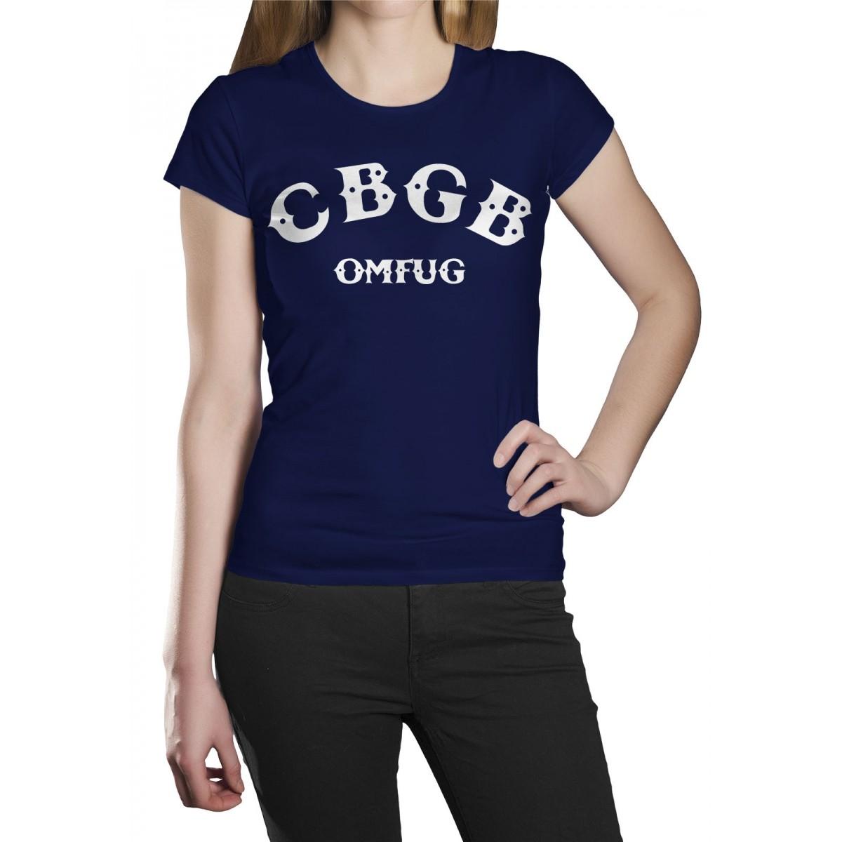 Camiseta HShop Cbgb Azul  - HShop