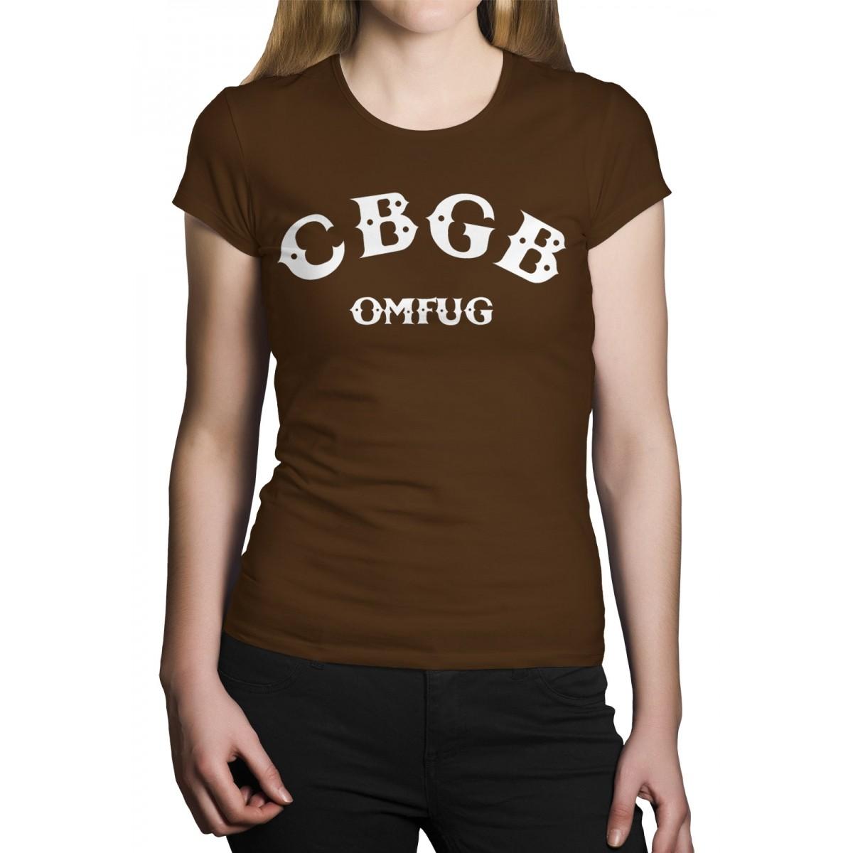 Camiseta HShop Cbgb Marrom  - HShop