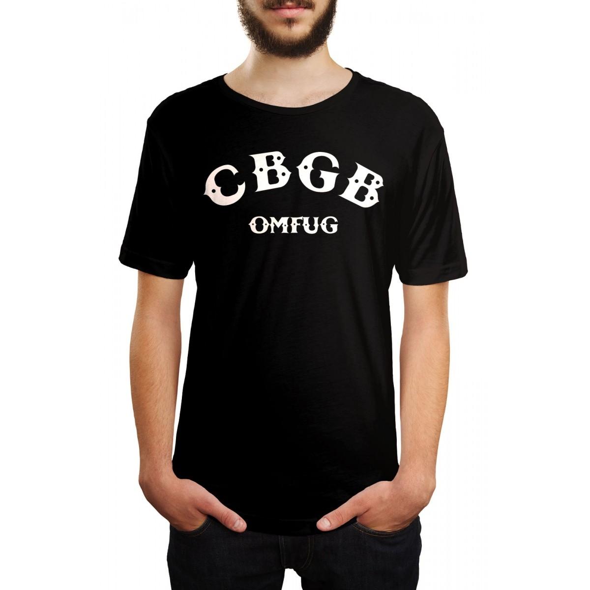 Camiseta CBGB Logo Preto  - HShop