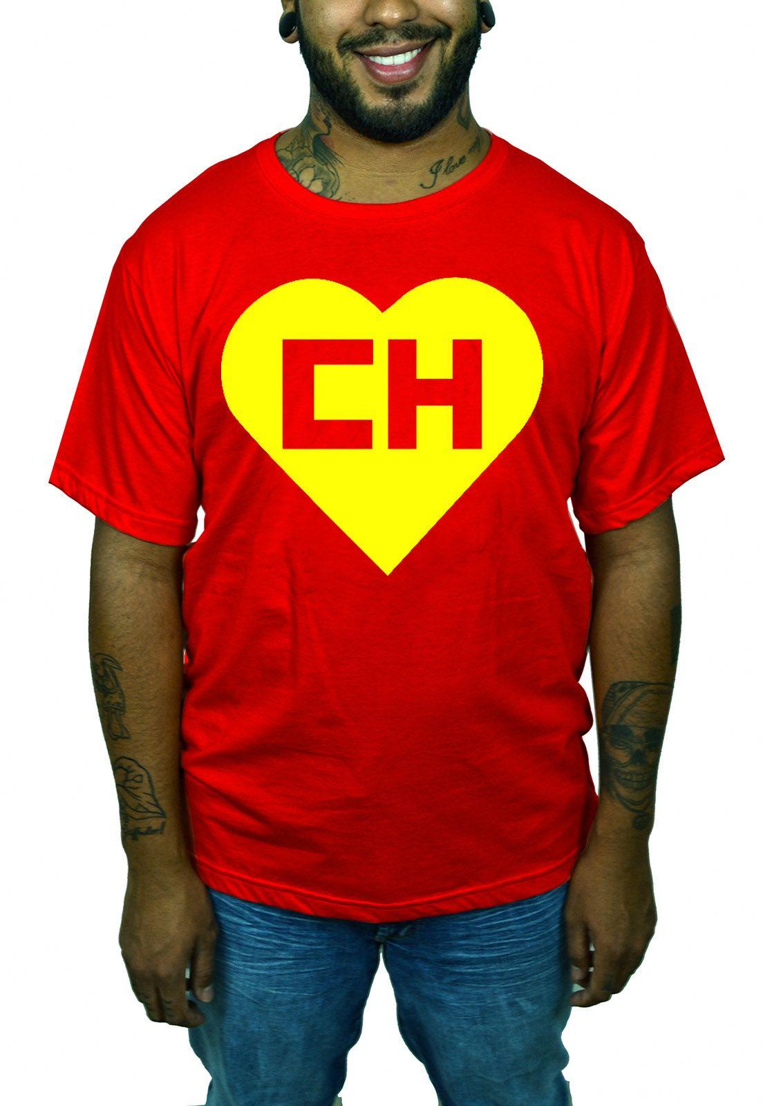 Camiseta Chapolin Logo - Clássico  - HShop