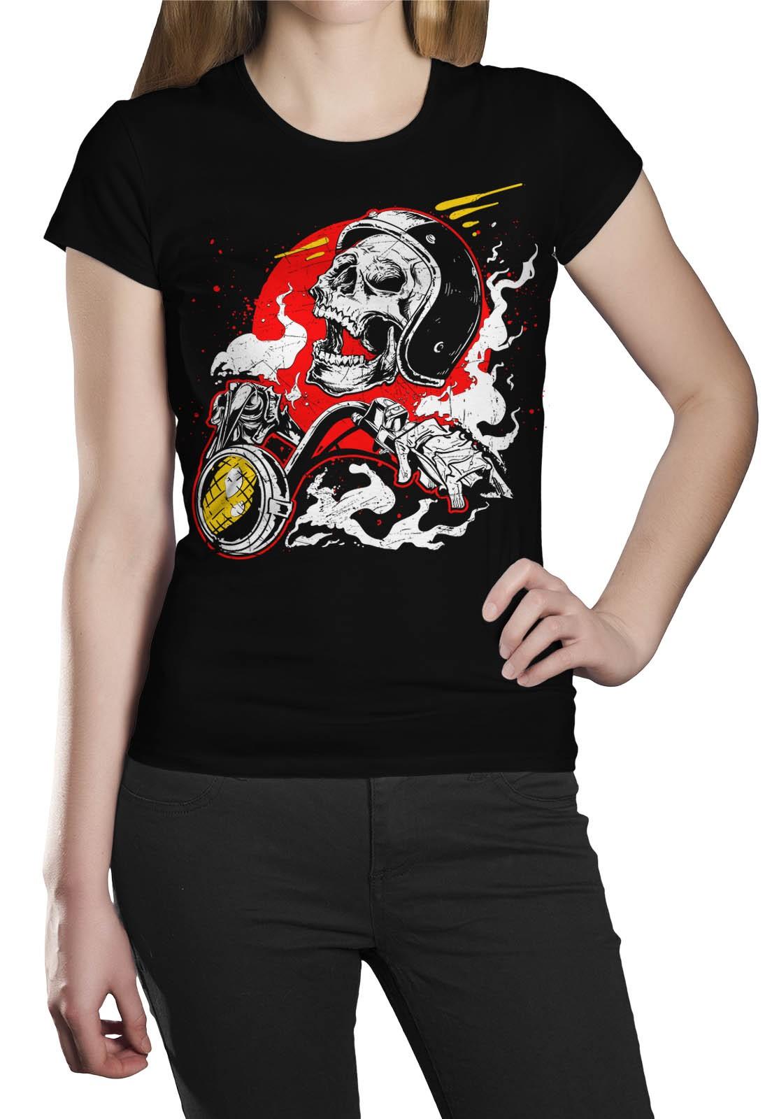 Camiseta HShop Crazy Riders Preto  - HShop