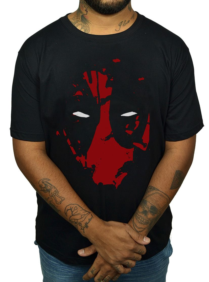 Camiseta Deadpool Mask  - HShop