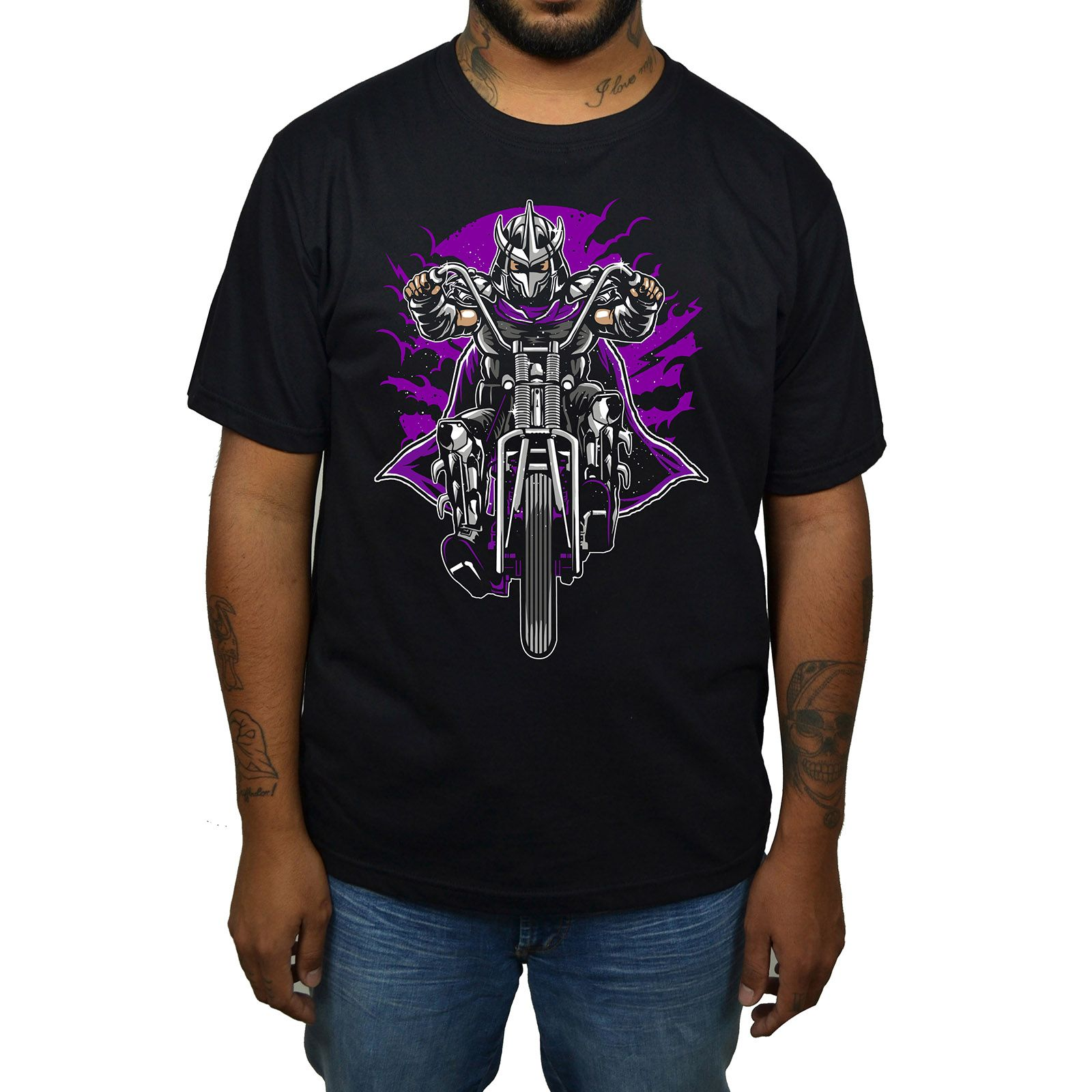 Camiseta Destruidor Tartarugas Ninjas - Preto  - HShop