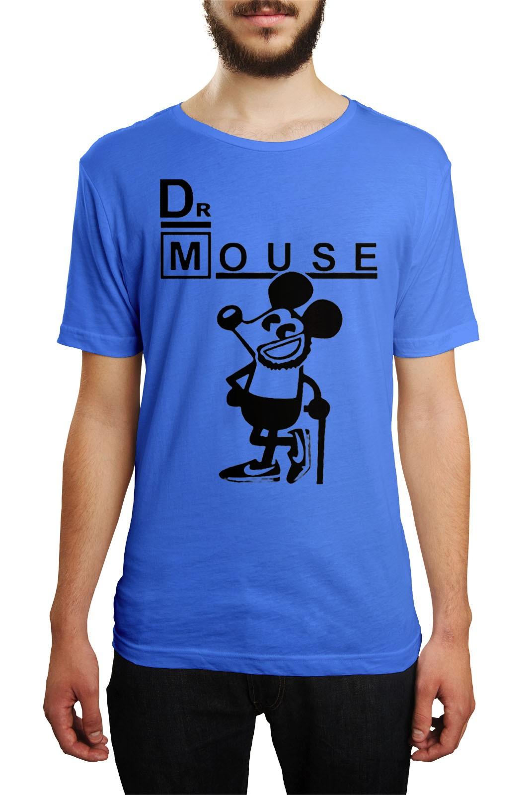 Camiseta HShop Dr Mouse Azul  - HShop