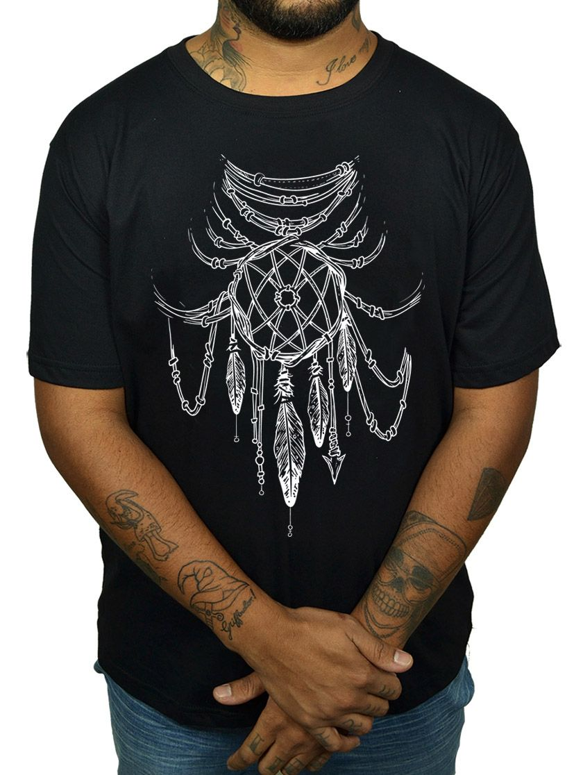 Camiseta HShop Dream Catcher Preta  - HShop