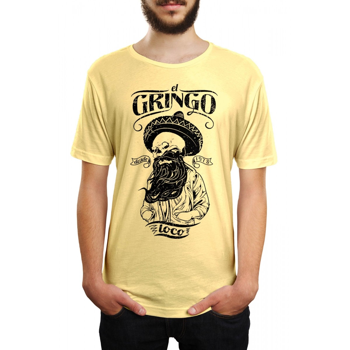Camiseta HShop El Gringo Amarelo  - HShop