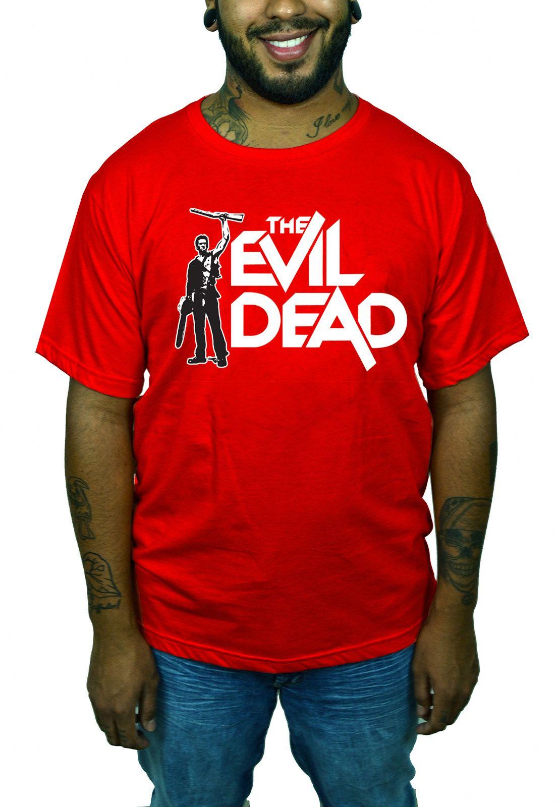 Camiseta Evil Dead Vermelho  - HShop