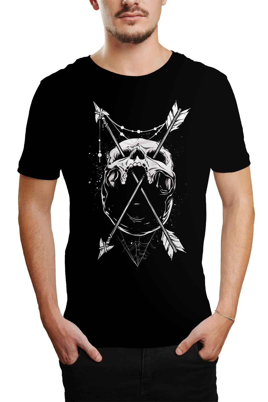 Camiseta HShop Flecha Preto  - HShop