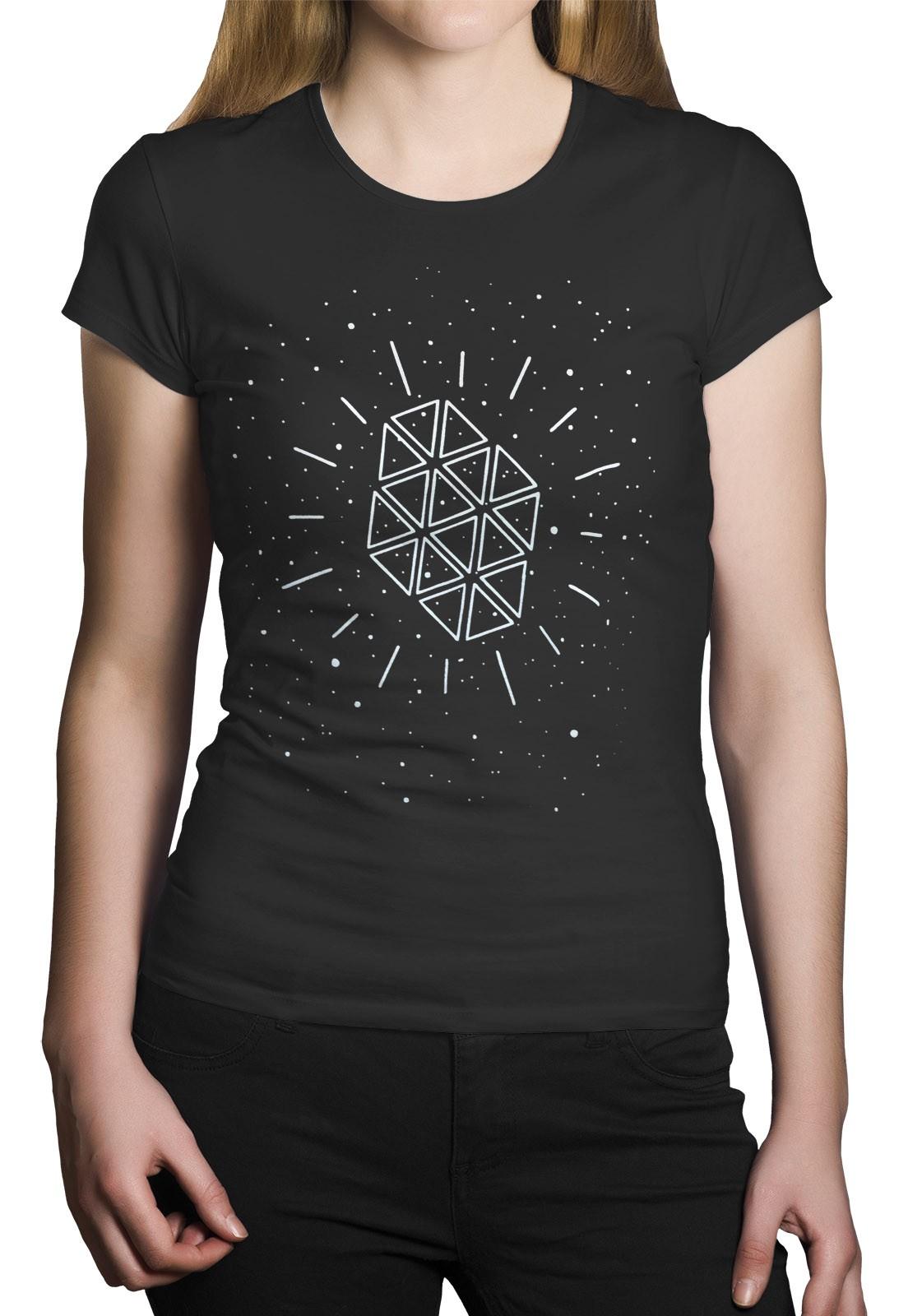 Camiseta HShop Galáxia Cinza  - HShop