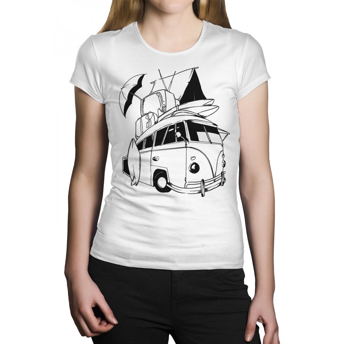 Camiseta HShop Kombi Branca  - HShop
