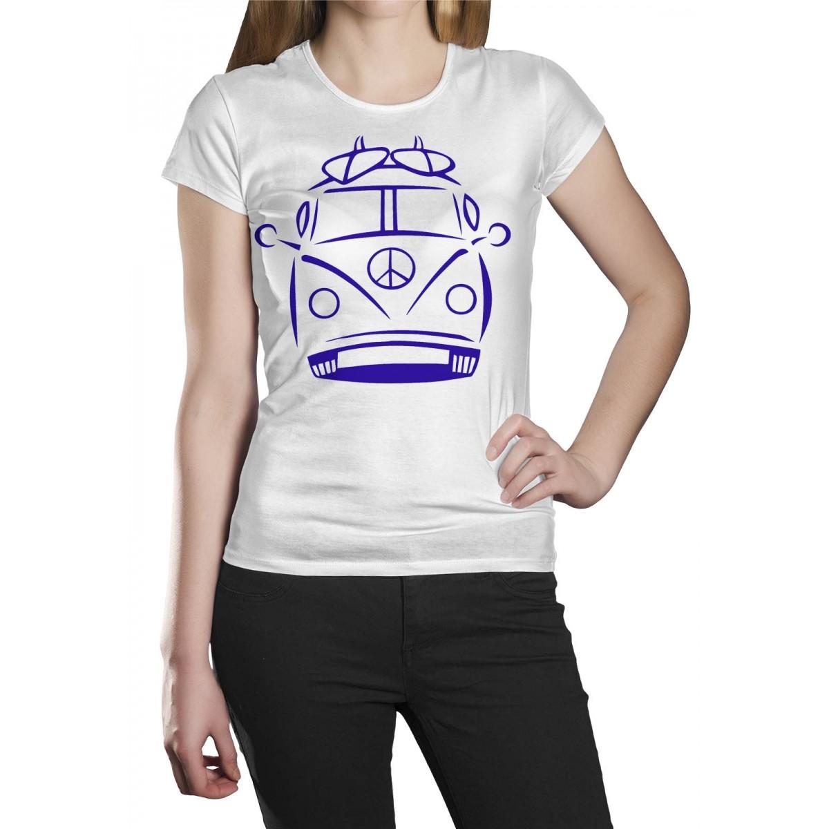 Camiseta HShop Kombi Branco  - HShop