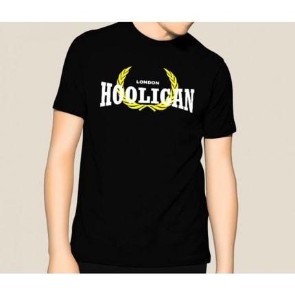 Camiseta HShop London Hooligan Preto  - HShop