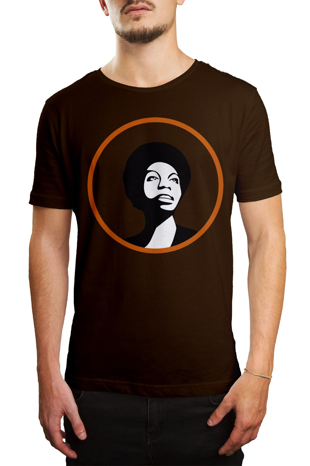 Camiseta HShop Nina Marrom  - HShop