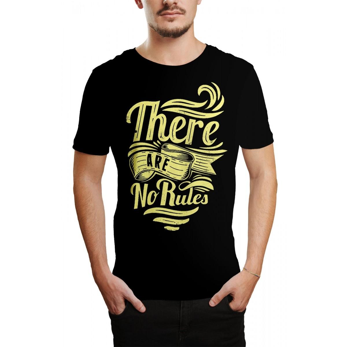 Camiseta HShop No Rules Preto Preto  - HShop
