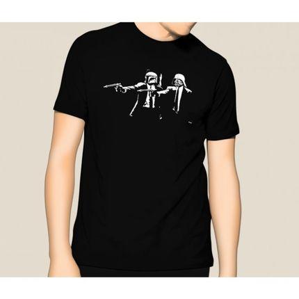 Camiseta HShop Pulp Wars Preto  - HShop