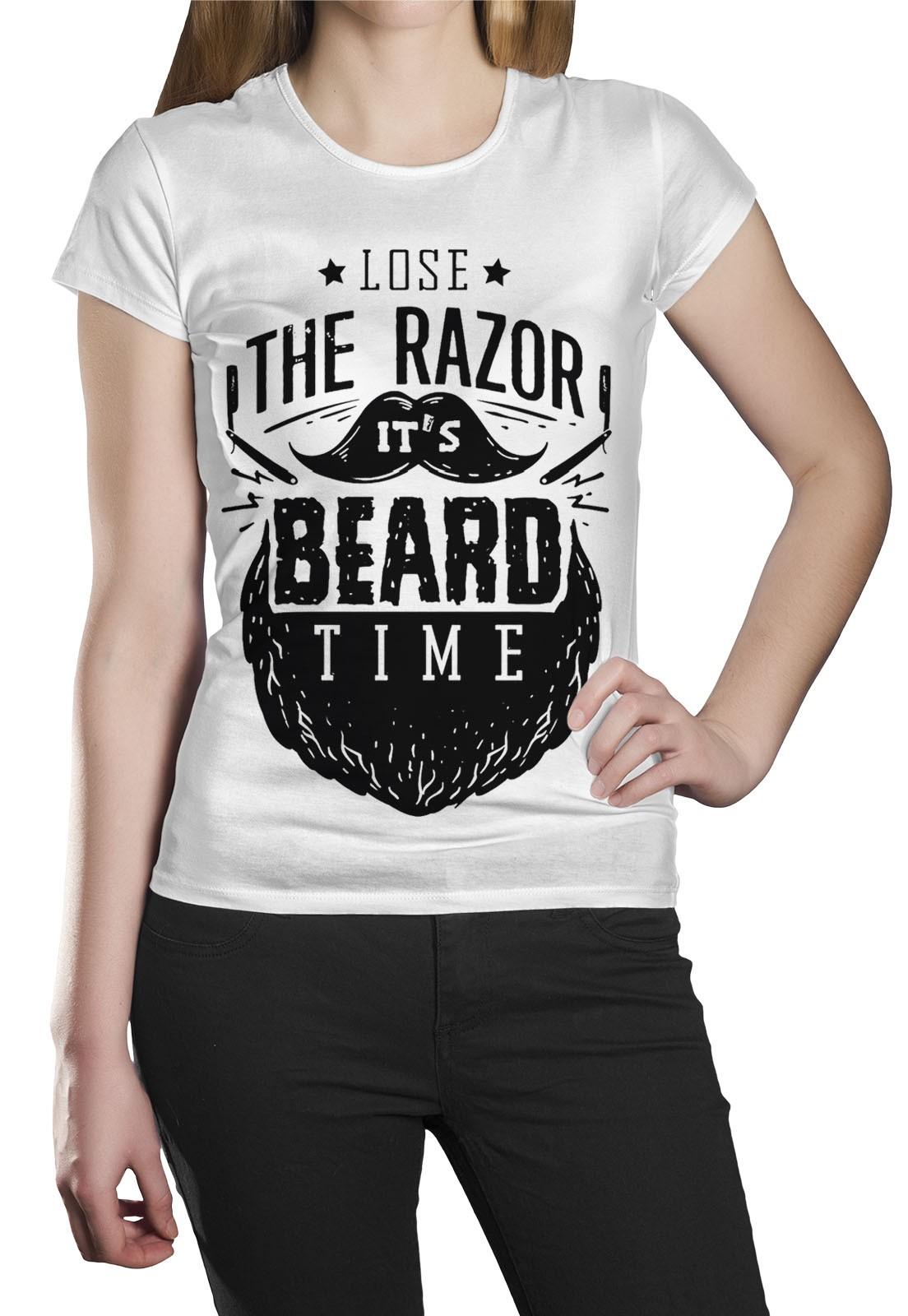 Camiseta HShop Razor Branca  - HShop