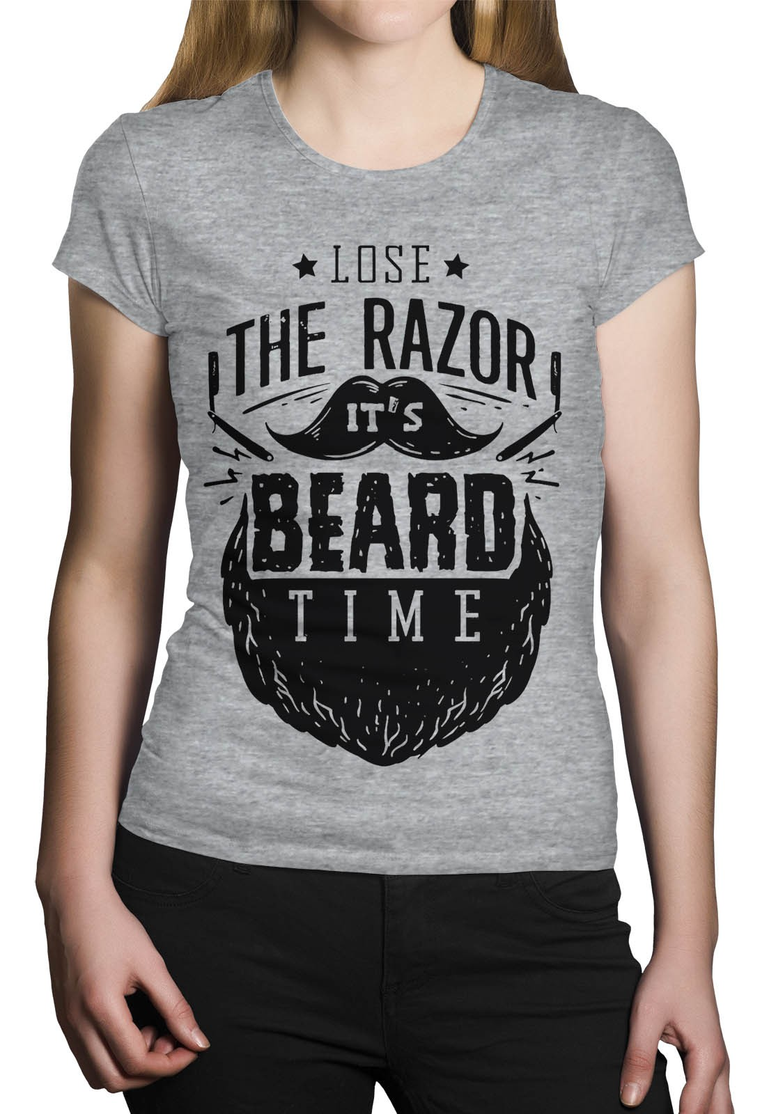 Camiseta HShop Razor Cinza  - HShop