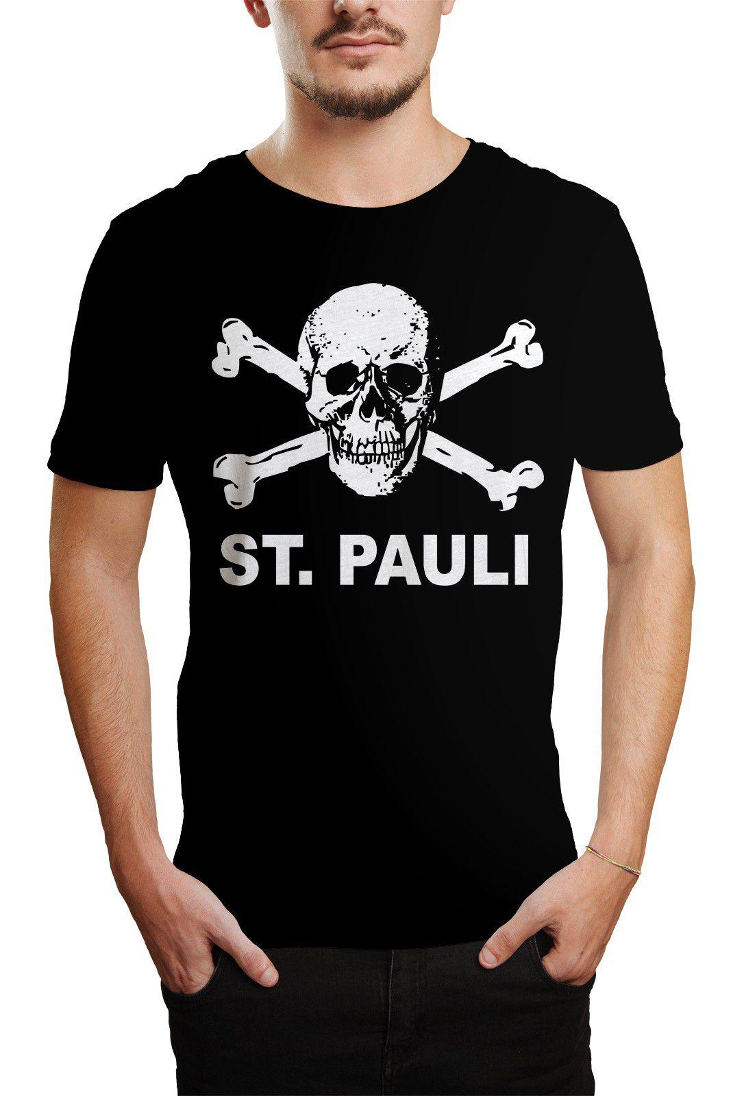 Camiseta HShop St Pauli - Escolha a Cor  - HShop