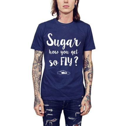 Camiseta HShop Sugar Azul  - HShop