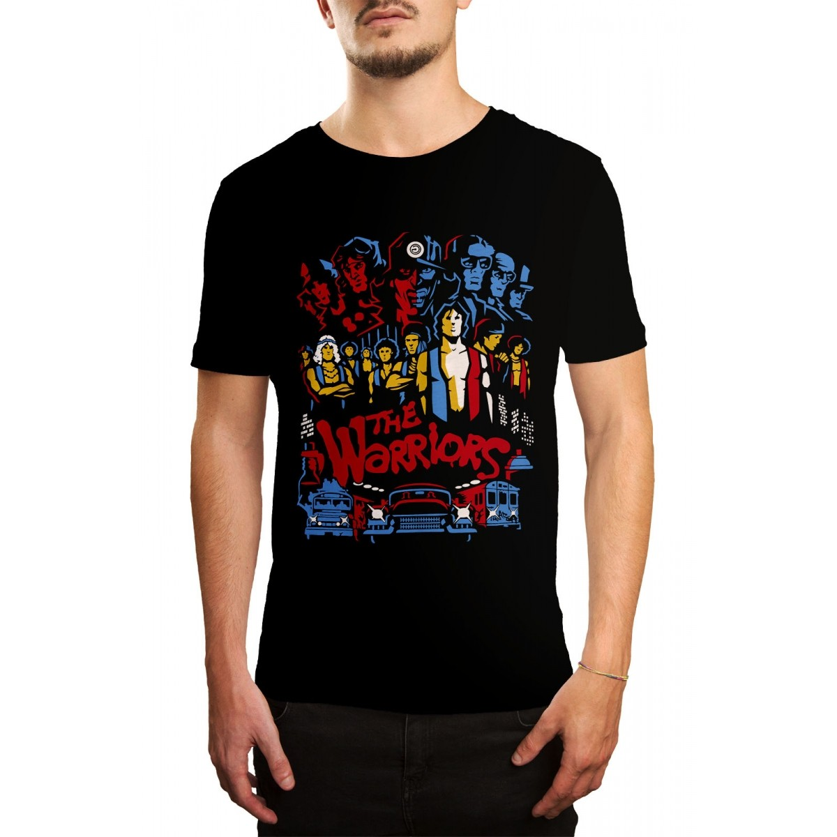 Camiseta HShop The  Warriors Preto - 071  - HShop