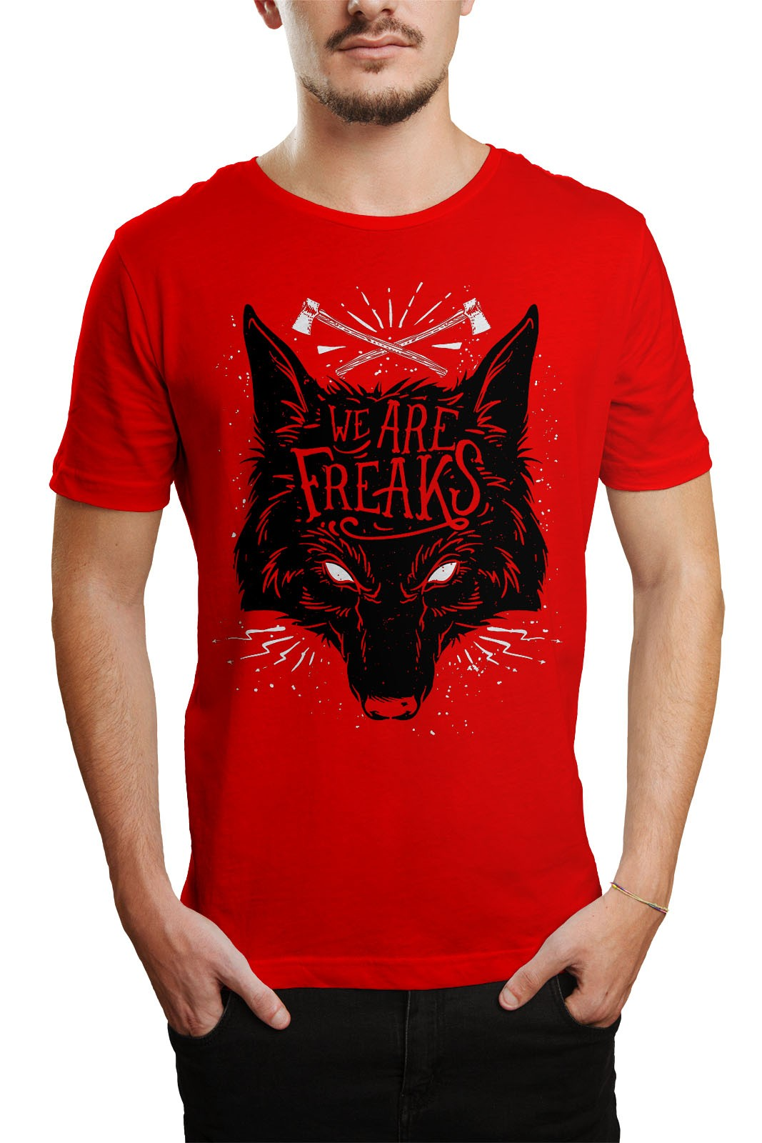 Camiseta HShop We Are Freaks Vermelho  - HShop