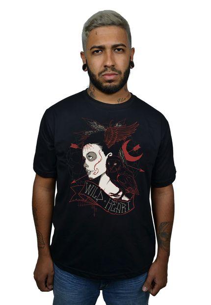 Camiseta HShop Wild Heart Preta  - HShop