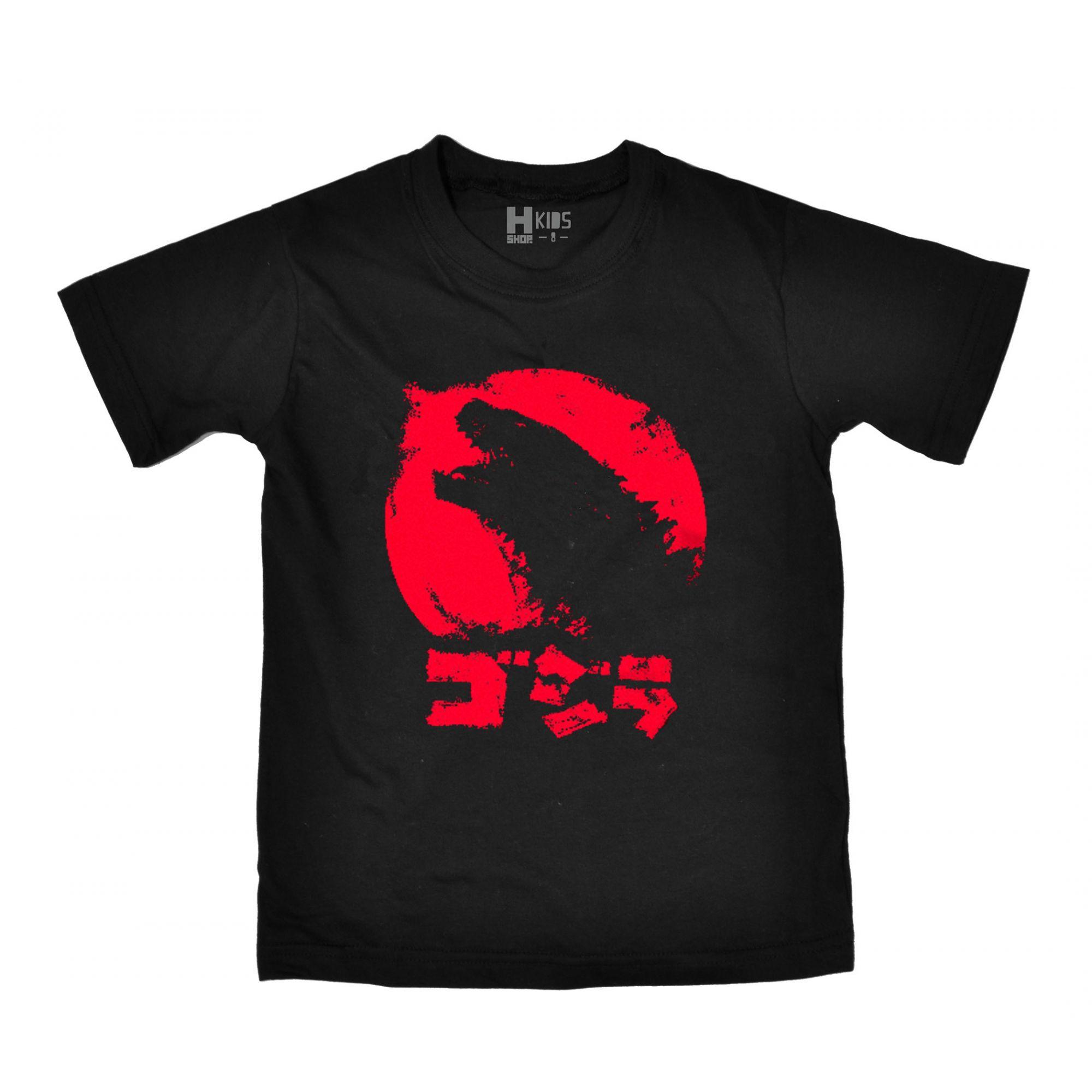 Camiseta Infantil Godzilla  - HShop
