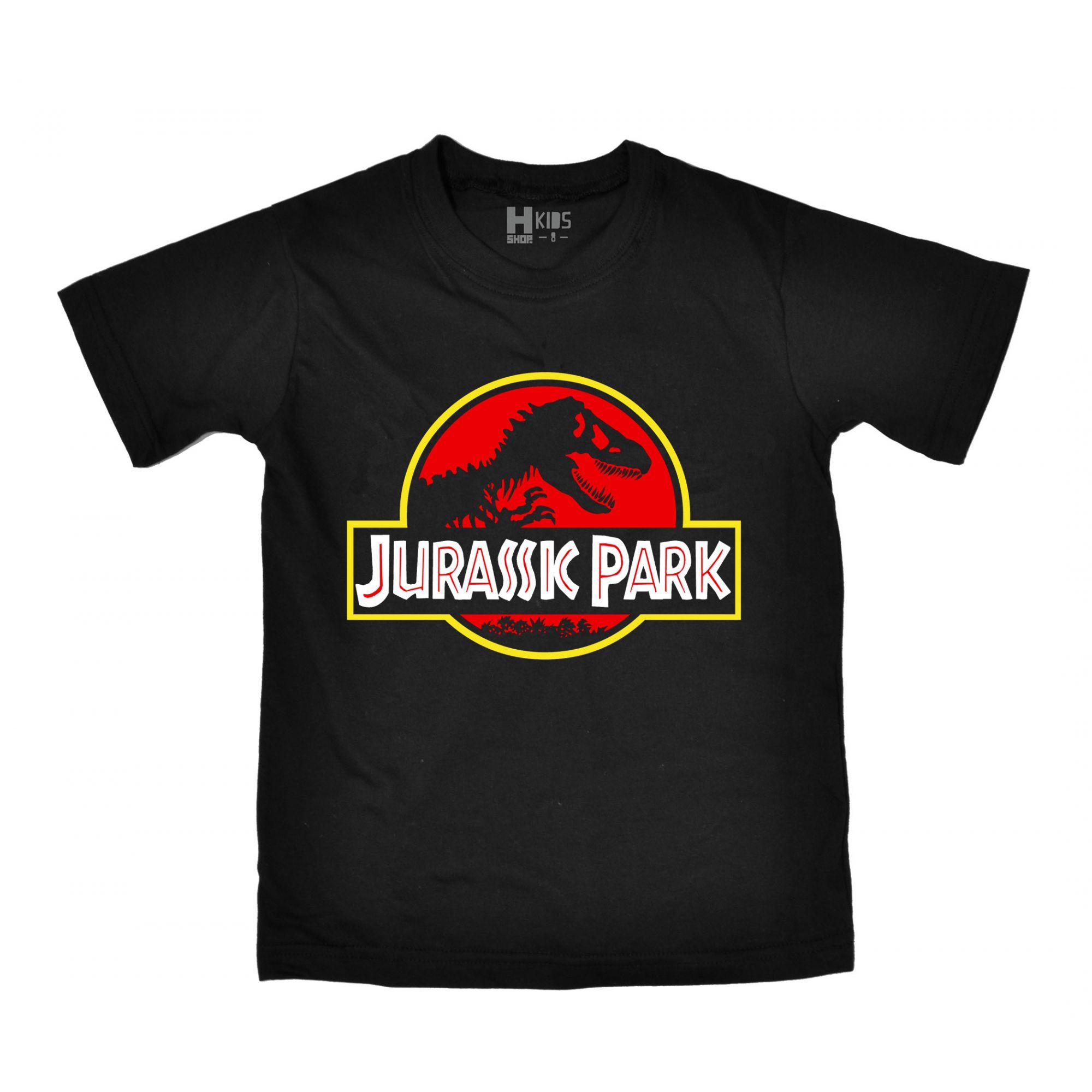 Camiseta Infantil Jurassic Park  - HShop