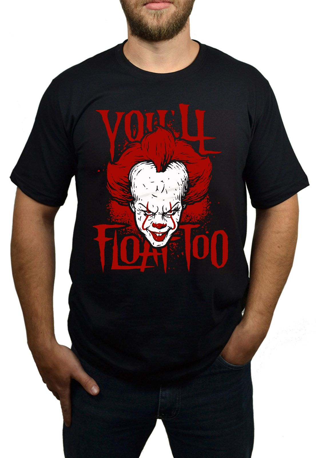 Camiseta It - A Coisa - Pennywise - You