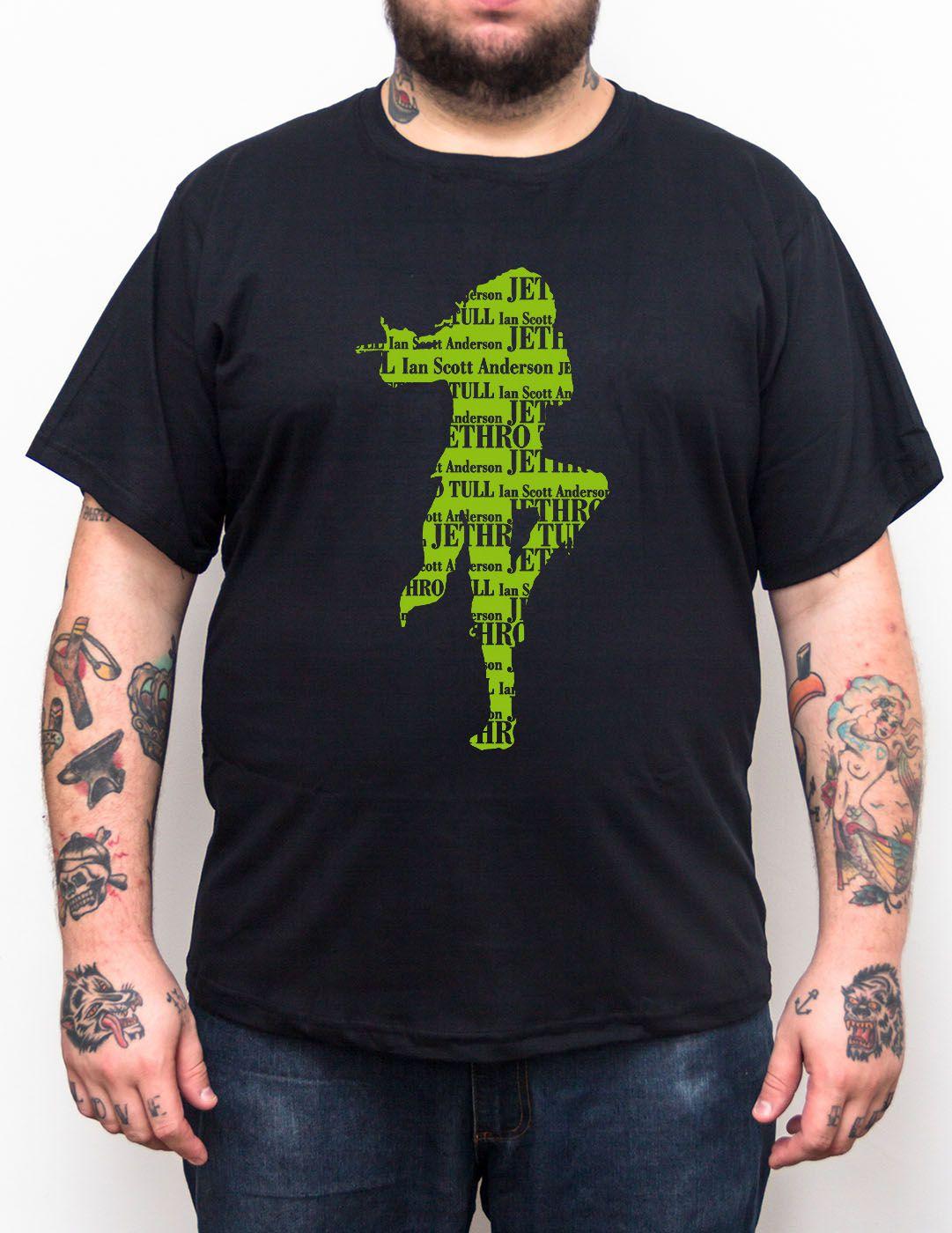Camiseta Jethro Tull - Plus Size - Tamanho Grande  - HShop