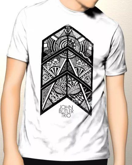 Camiseta John Butler Trio - Branco  - HShop