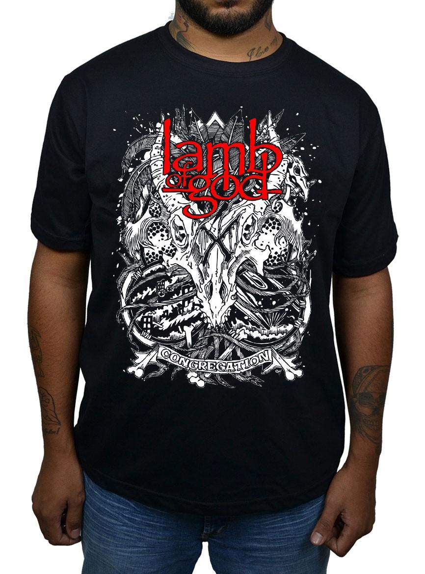 Camiseta Lamb of God  - HShop