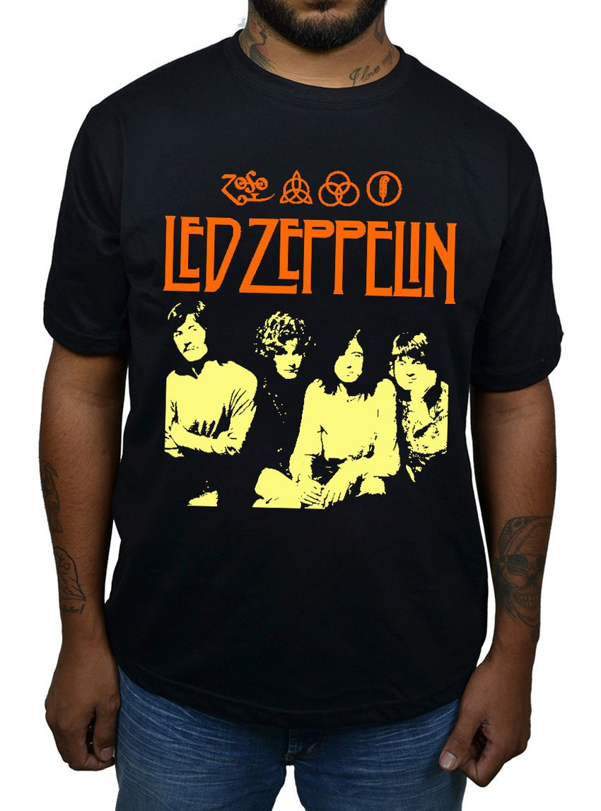 Camiseta Led Zeppelin  - HShop