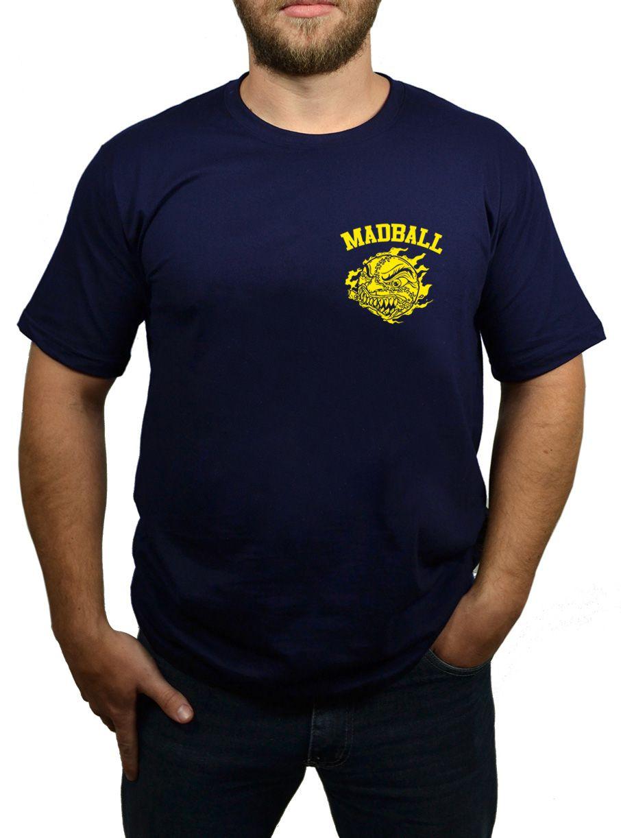 Camiseta Madball - Azul Marinho - Logo Amarelo  - HShop